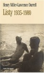 Lawrence Durrell-Henry Miller - Listy. 1935-1980 - Henry Miller, Lawrence Durrell
