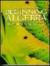 Beginning Algebra - K. Elayn Martin-Gay