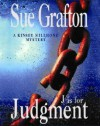 J is for Judgment (Kinsey Millhone Mystery) - Sue Grafton