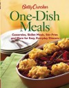 Betty Crocker One-Dish Meals: Casseroles, Skillet Meals, Stir-Fries and More for Easy, Everyday Dinners (Betty Crocker Books) - Betty Crocker