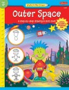 Outer Space: A step-by-step drawing & story book - Jenna Winterberg, Diana Fisher