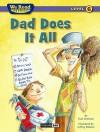 We Read Phonics-Dad Does It All - Paul Orshoski, Jeffrey Ebbeler