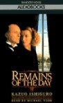 The Remains of the Day: (Movie Tie-In Edition) - Michael York, Kazuo Ishiguro