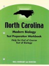 North Carolina Modern Biology Test Preparation Workbook: Help for End of Course Test of Biology - Holt Rinehart