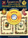 Full-Color Frames and Borders CD-ROM and Book - Dover Publications Inc.