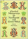 Charted Monograms for Needlepoint and Cross-Stitch - Rita Weiss