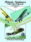 Historic Airplanes Full-Color Postcards: 24 Ready-to-Mail Paintings - John Batchelor