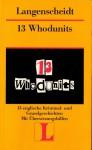 13 Whodunits - Theo Schuhmacher