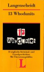 Langenscheidts Lektüre. 13 Whodunits - Various