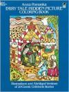 Fairy Tale Hidden Picture Coloring Book - Anna Pomaska