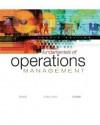 Fundamentals of Operations Management with Student CD-ROM - Mark Davis, Nicholas J. Aquilano, Richard B. Chase
