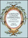Complete London Symphonies In Full Score: Series Ii, Nos. 99 104 - Joseph Haydn