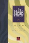 New Believer's Bible: First Steps for New Christians (New Living Translation) - Greg Laurie