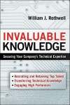 Invaluable Knowledge: Securing Your Company's Technical Expertise - William J. Rothwell