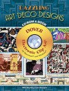 Dazzling Art Deco Designs CD-ROM and Book - Dover Publications Inc.