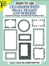 Ready-to-Use Old-Fashioned Small Frames and Borders - Carol Belanger Grafton