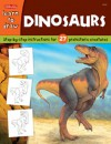 Dinosaurs: Step-by-step instructions for 27 prehistoric creatures - Walter Foster Publishing, Jeff Shelly