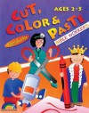 Cut, Color & Paste: Bible Workers: Ages 2-5 - Janet Miller