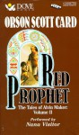 Red Prophet (Tales of Alvin Maker, #2) - Orson Scott Card, Nana Visitor