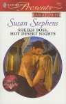 Sheikh Boss, Hot Desert Nights - Susan Stephens
