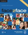 Face2face Pre-Intermediate Student's Book with DVD-ROM - Chris Redston, Gillie Cunningham