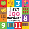 First 100 Board Books First 100 Numbers - Roger Priddy