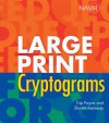 Large Print Cryptograms - Trip Payne, Shawn Kennedy