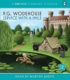 Service With a Smile - P.G. Wodehouse, Martin Jarvis