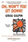 Oh, Won't You Sit Down? - Greg Gilpin