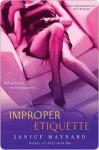 Improper Etiquette - Janice Maynard