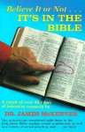 It's in the Bible - Jeani M. McKeever, James M. McKeever