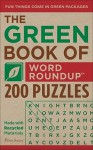 PUZZLES: The Green Book of Word Roundup: 200 Puzzles - NOT A BOOK