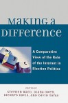 Making a Difference: A Comparative View of the Role of the Internet in Election Politics - Stephen Ward, Diana Owen, David Taras, Taylor Boas, Ian McAllister, Randolph Kluver, David T. Hill, Tamara A. Small, David Danchuk, Wainer Lusoli, Jose-Luis Dader, Marc Hooghe, Sara Vissers, Gerrit Voerman, Marcel Boogers, Sara Bentivegna, Eva Schweitzer, Rachel Gibson