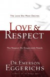 Love & Respect: The Love She Most Desires; The Respect He Desperately Needs - Emerson Eggerichs