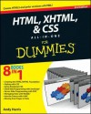 HTML, XHTML and CSS All-In-One for Dummies - Andy Harris