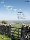 English Legal System Directions - Steve Wilson, Rebecca Mitchell, Tony Storey, Natalie Wortley