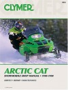 Clymer Arctic Cat : Snowmobile Shop Manual 1990-1998 - Clymer Publications