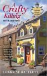 A Crafty Killing (A Victoria Square Mystery #1) - Lorraine Bartlett