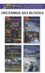 Love Inspired Suspense December 2013 Bundle: Christmas Cover-UpForce of NatureYuletide JeopardyWilderness Peril - Lynette Eason, Dana Mentink, Sandra Robbins, Elizabeth Goddard