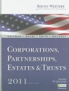 South-Western Federal Taxation 2011: Corporations, Partnerships, Estates and Trusts (with H&r Block @ Home Tax Preparation Software CD-ROM) - William H. Hoffman, William A. Raabe, James E. Smith, David M. Maloney