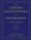The Corsini Encyclopedia of Psychology, Volume 4 - Irving B. Weiner, W. Edward Craighead