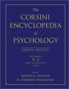 The Corsini Encyclopedia of Psychology, Volume 4 - Irving B. Weiner, W. Edward Craighead