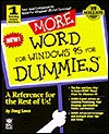 More Word for Windows 95 for Dummies - Doug Lowe