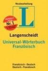 Langenscheidt Universal Wörterbuch Französisch - Langenscheidt