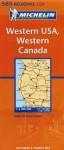 Carte routière : Western USA, Western Canada, N° 11585 (en anglais) - Michelin Travel Publications