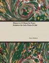 Minuet in D Major by Franz Schubert for Solo Piano D.366 - Franz Schubert