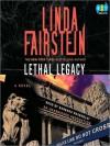 Lethal Legacy (Alexandra Cooper, #11) - Barbara Rosenblat, Linda Fairstein