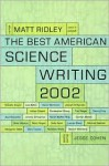 The Best American Science Writing 2002 - Matt Ridley, Jesse Cohen, Alan Lightman