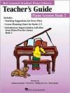 The Hal Leonard Student Piano Library Teacher's Guide - Piano Lessons Book 2 - Hal Leonard Publishing Company