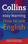 Collins Easy Learning How to Use English. - Collins